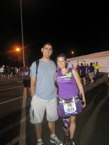 Mike and I before the Marathon!