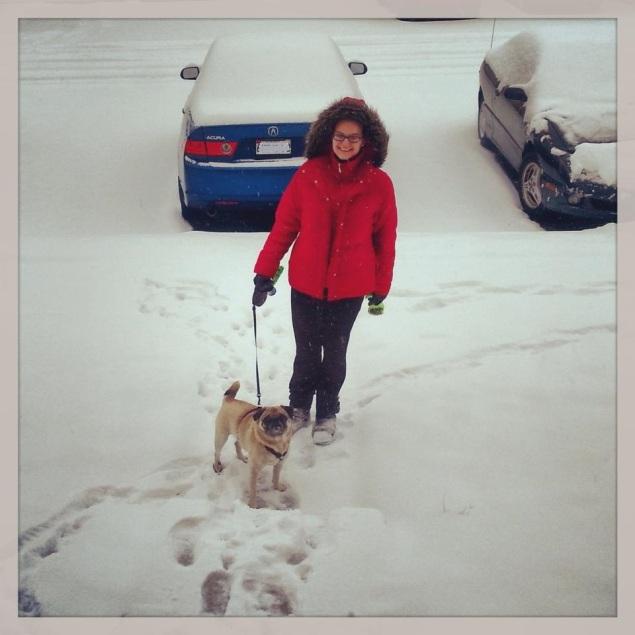 dashing through the snow!