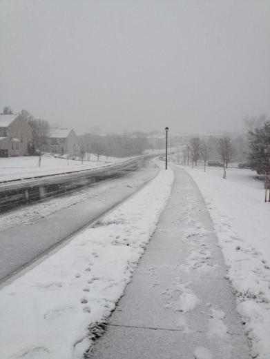 December snow day!