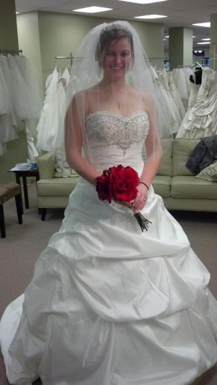 the day I found my dress!