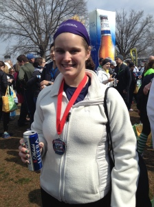 Gotta love the post-race beer
