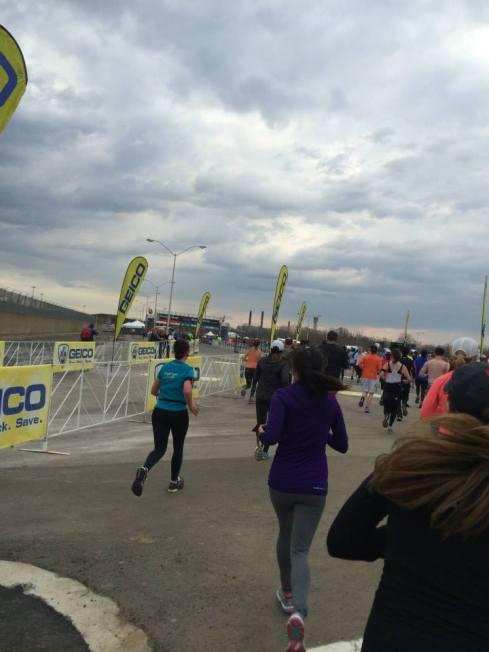 finish line!