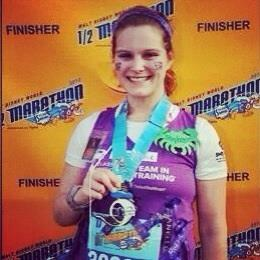 2012 Disney Half Marathon finisher!