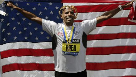 Way to go Meb!