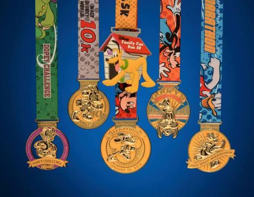 2014 Marathon Weekend medals