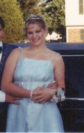 Jr.  Prom, 2001. Probably lost about 25-30 lbs here.