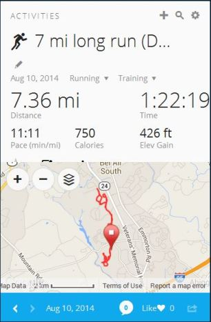 7 miles strong!
