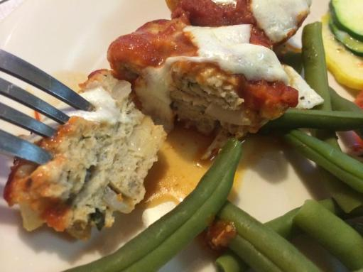 "chicken parm meatball ""muffins"""