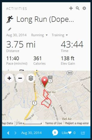 Week 9 long run