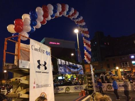 Marathon/5K starting line