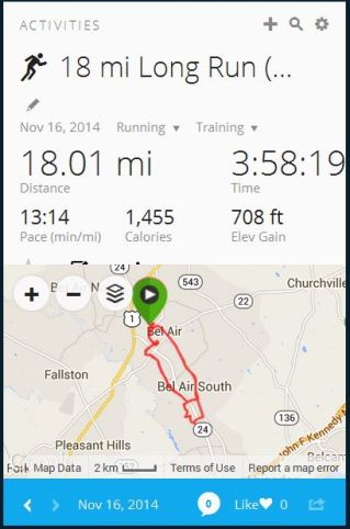 Week 20 Long Run 2