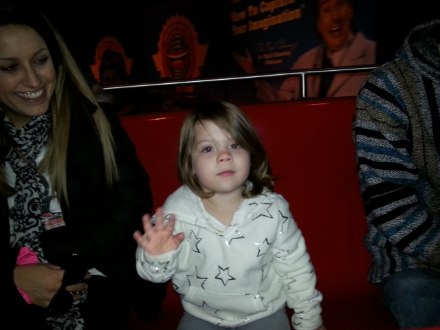 Gemma was excited for Figment!