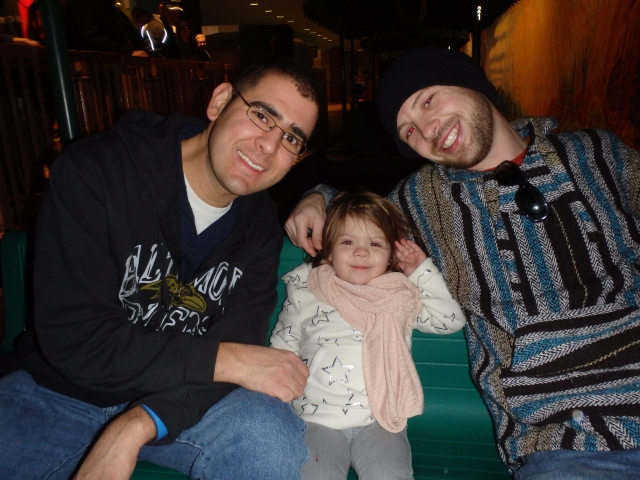 Gemma, Daddy, and Uncle Mike on Living With The Land