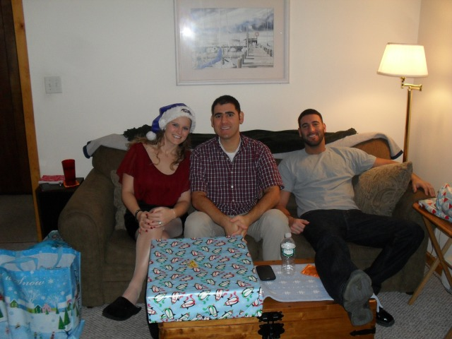Me, my husband and brother-in-law