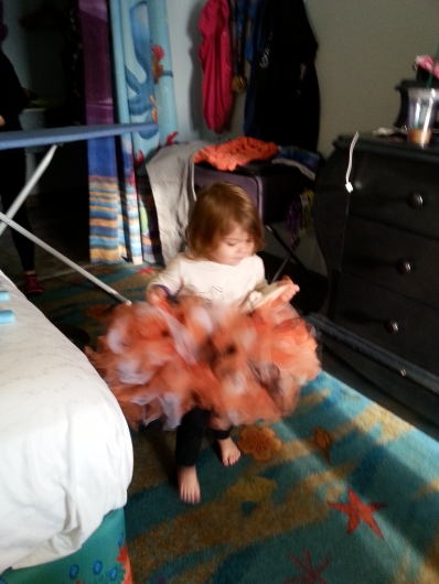 Gemma in my tutu