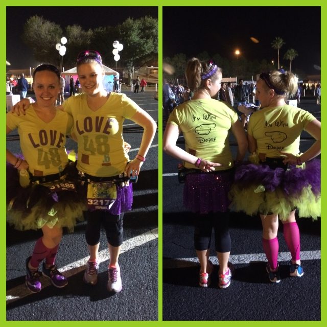 Marathon outfits!
