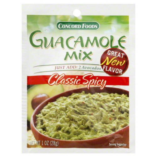 guacamole mix I use
