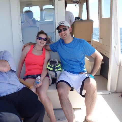 Boating in VA (with Zeus!)